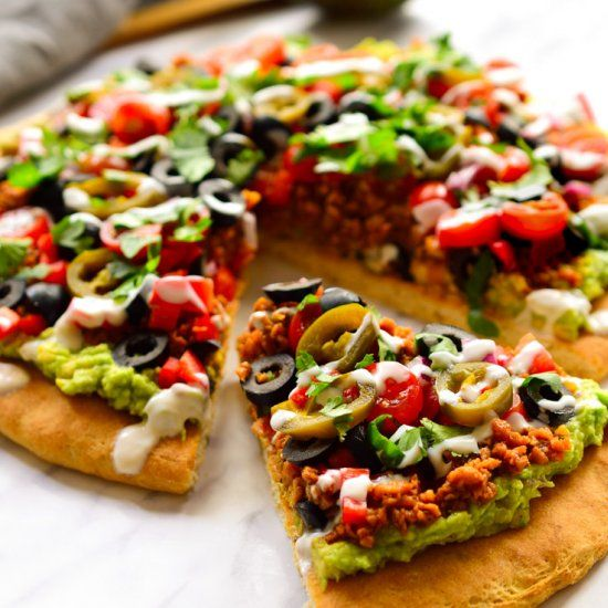 Vegan nacho pizza foodgawker vegan vegan nachos pizzas and vegan nacho pizza foodgawker vegan forumfinder