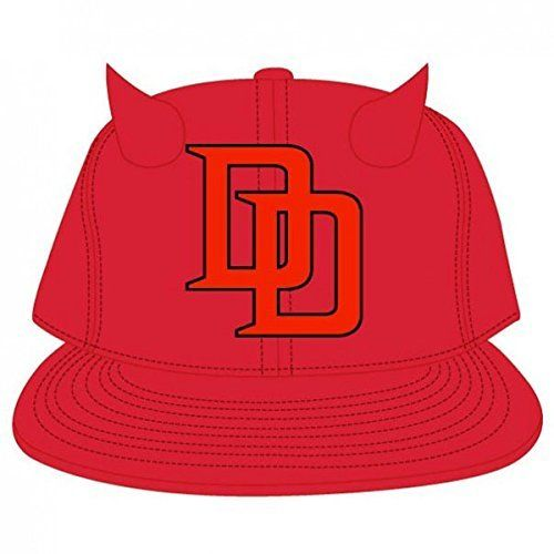 huge discount 6028a 5520b Baseball Hats · Bioworld Marvel- Daredevil Snapback Hat- Horns One Size  Fits Most, http