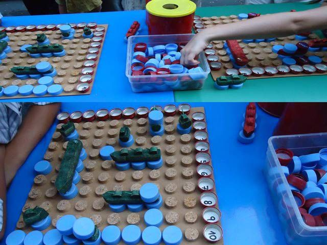 7 Juegos De Mesa Con Materiales Reciclados Juegos Con Reciclados