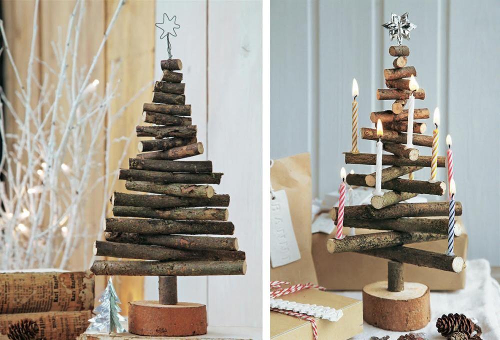 deko idee weihnachtsbaum aus zweigen weihnachten pinterest weihnachtsbaum weihnachten. Black Bedroom Furniture Sets. Home Design Ideas