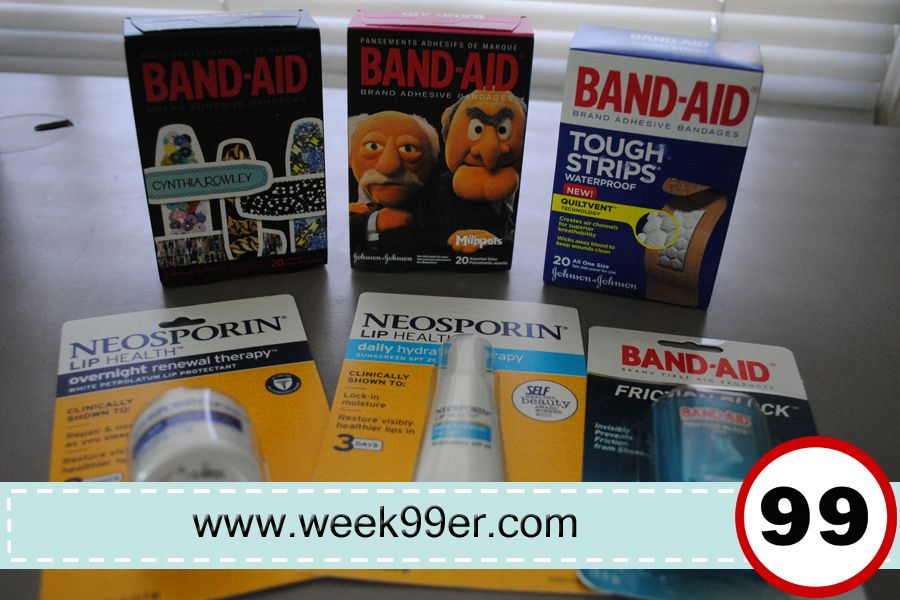 Bandaid neosporin stuff their stockings with great