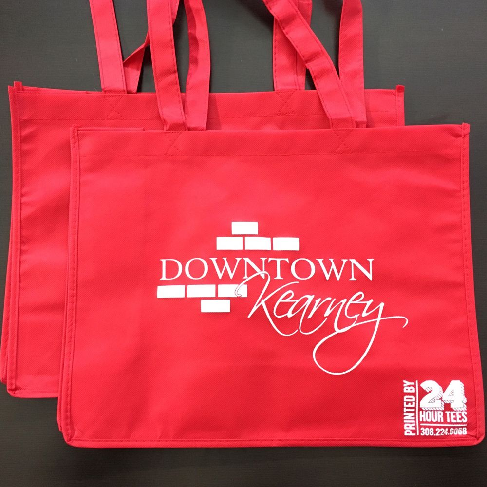 #24HourTees is teaming up with #DowntownKearney to print some sweet giveaway bags (to the first couple hundred attendees) for the #TasteAndTour event on May 5th! Sign up now to get your own!