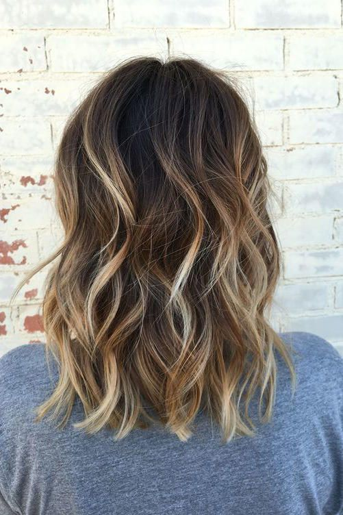 Gorgeous Brown Hairstyles With Blonde Highlights Brown Blonde Hair Brown Hair With Blonde Highlights Short Hair Balayage