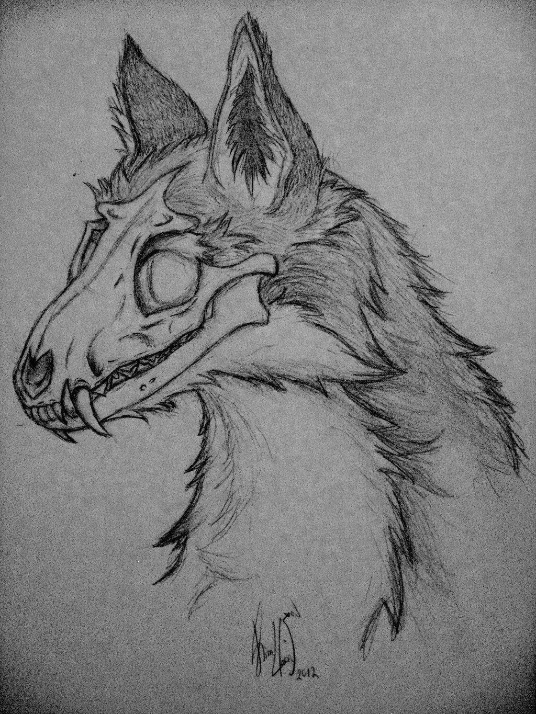 Photo of OC Skull Fox Fall by Rizden on DeviantArt