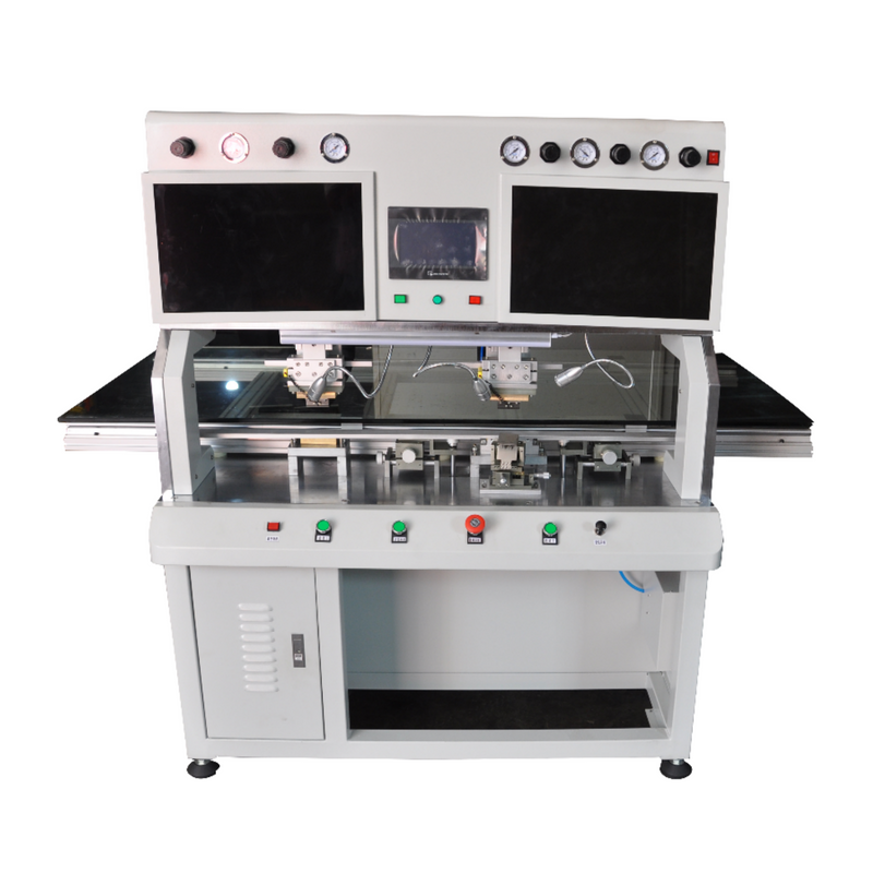 Lcd Bonding Machine Main Features 1 Plc Control Pulse Heating