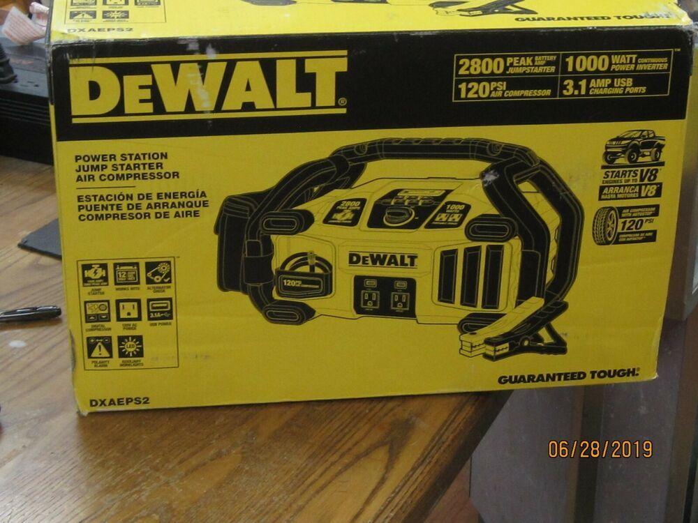DEWALT DXAEPS2 Professional Power Station Jumpstarter