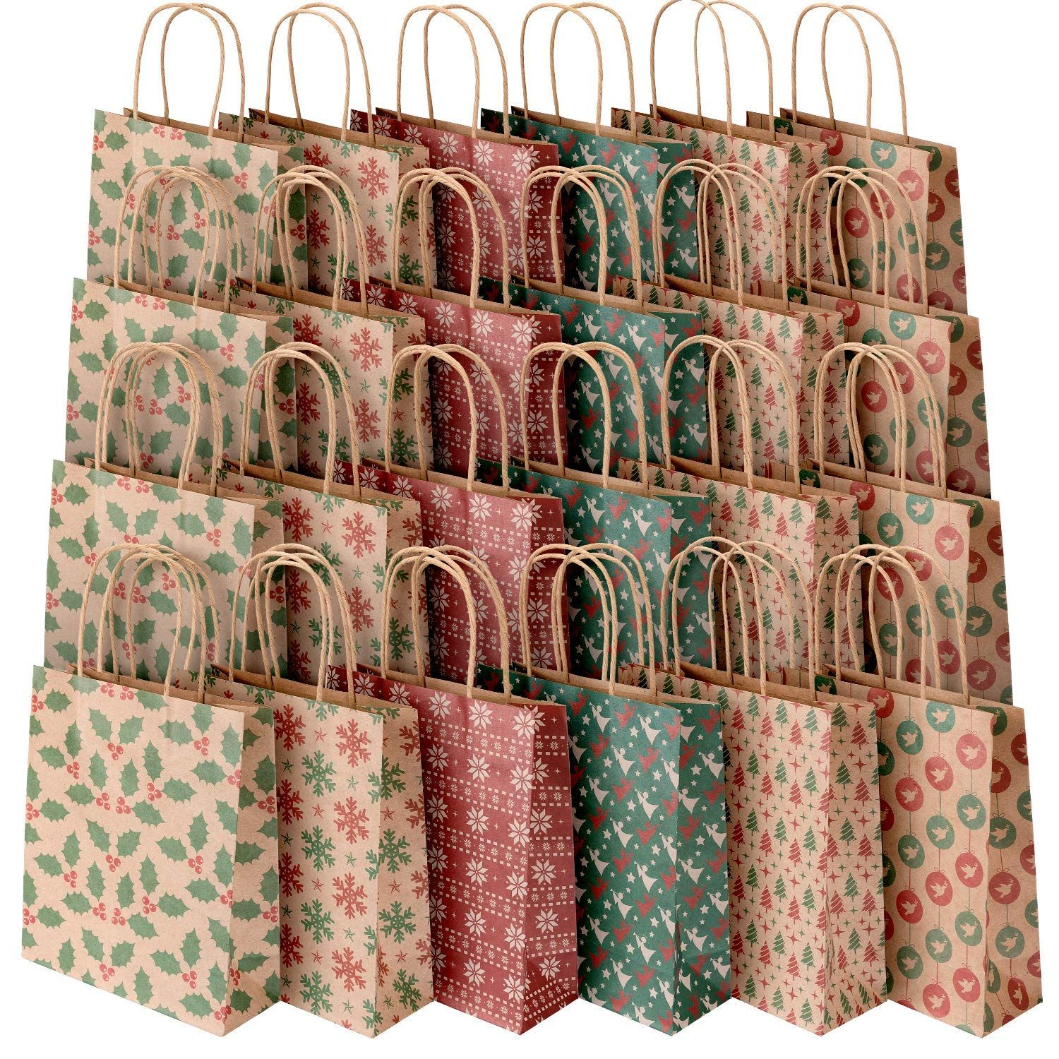 PAPER GIFT BAGS /& JEWELRY BAGS 3 COLORS AND 4 SIZES PAPER BAGS TRELLIS ASSORTED