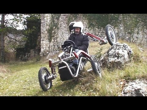 wordlessTech | Swincar Spider off-road 4×4 electric vehicle