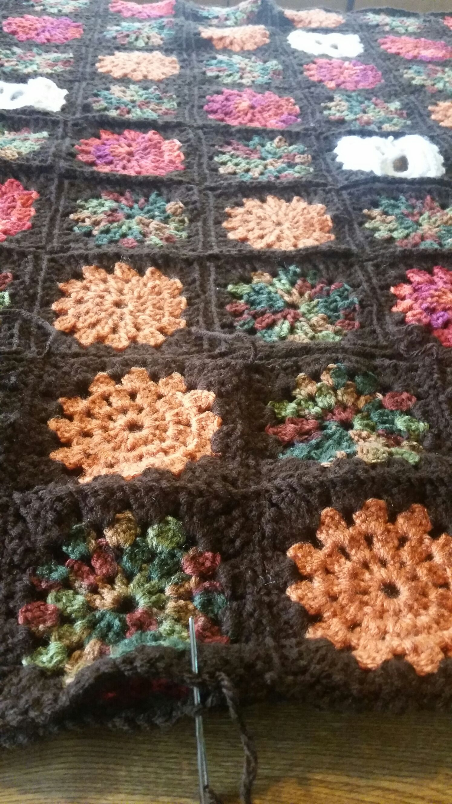 Attaching granny squares | crochet | Pinterest