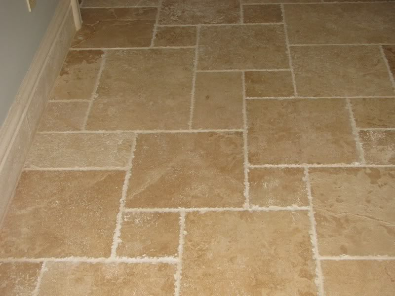 big and small tile pattern | Bathroom Remodel | Pinterest | Tile ...