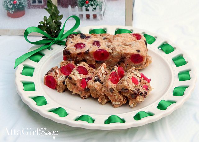 blog post at atta girl says this no bake icebox fruit cake recipe will change your mind about christmass most maligned dessert