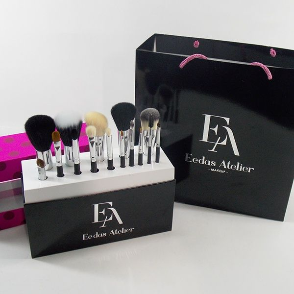 Makeup brush display packing new creation ideas