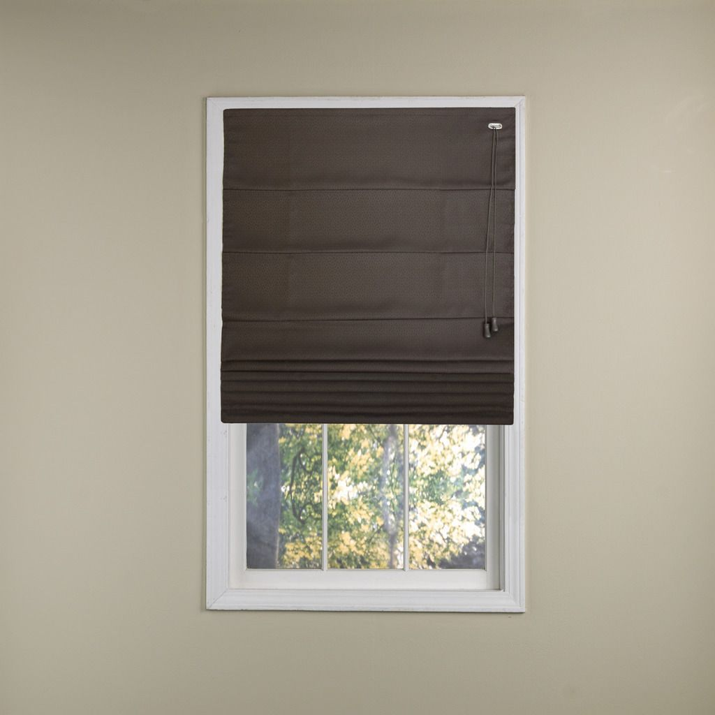 Crafted In A Clic Roman Shade Design This Energy Efficient