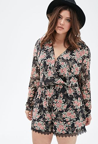 Floral print romper from Forever 21 | Felecia\'s Board of Fun Stuff ...