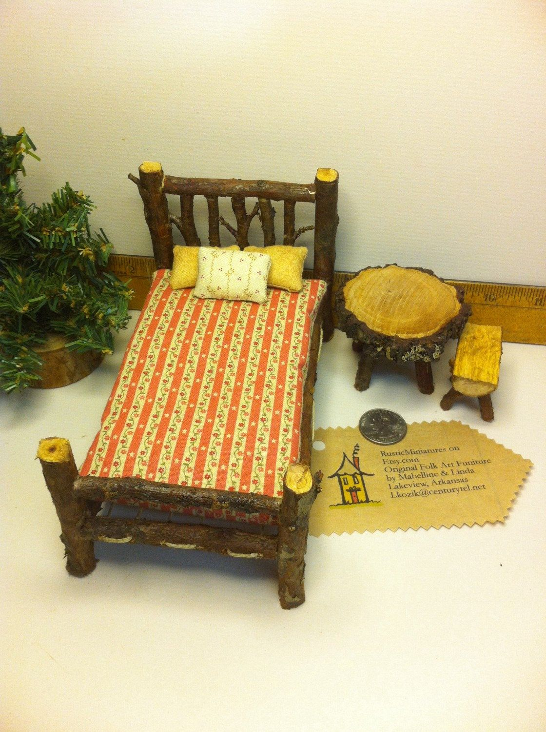A personal favorite from my etsy shop rustic miniatures