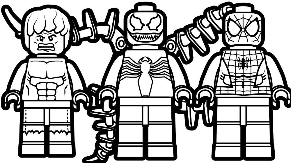 Disegno Di Lego Spiderman Da Colorare Disegni Da Colorare E In