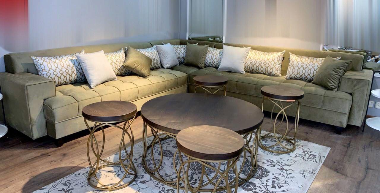 كنب زاويه Sectional Couch Furniture Home Decor