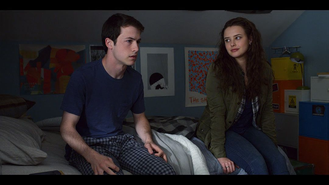 Dylan Minnette As Clay Jensen Katherine Langford As Hannah Baker