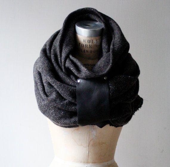 Inverno vendita nuovo uomo lana e Cashmere sciarpa / di artlab