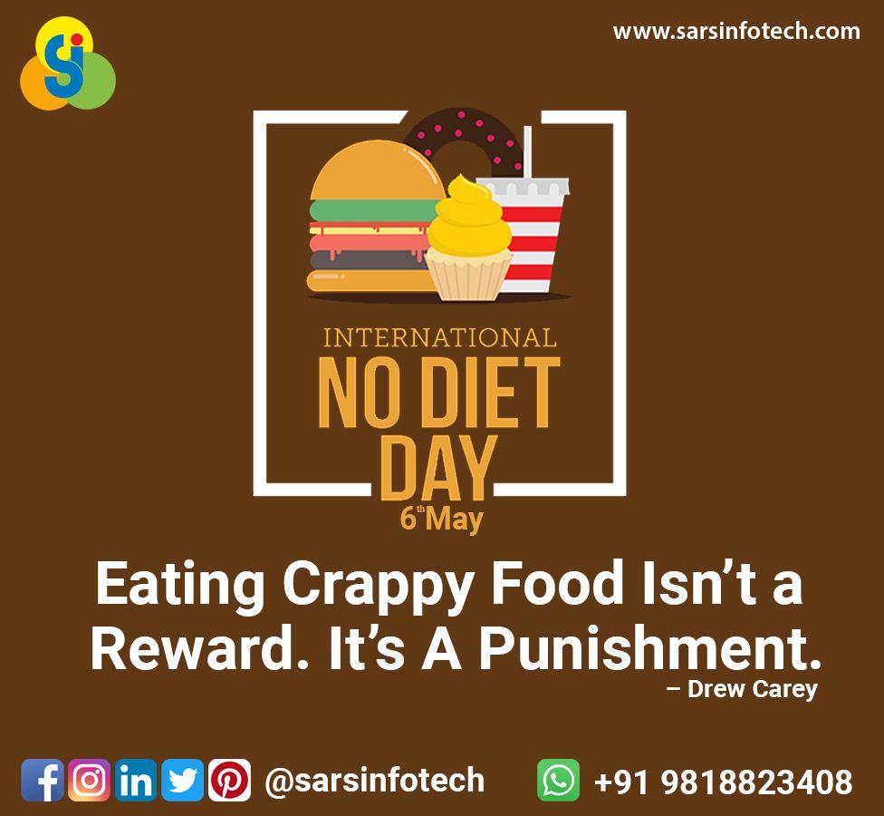 World No Diet Day 2020 Day Diet How To Plan