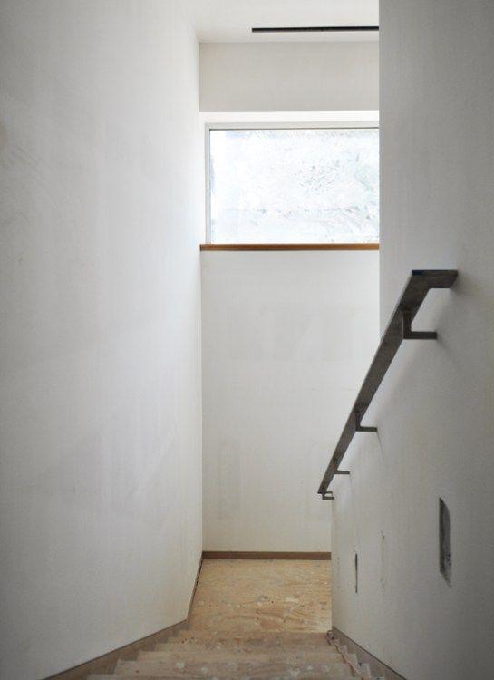 Modern Handrail Detail Modern Stair Railing Wall   Modern Stair Handrail Wall Mounted