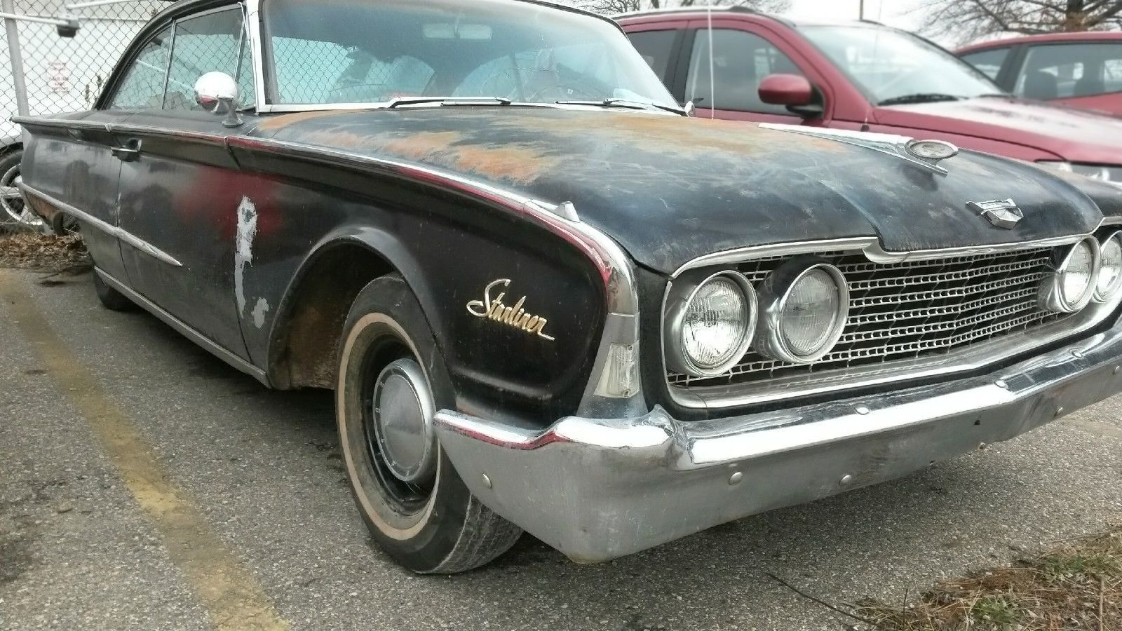 1960 ford galaxie starliner http barnfinds com