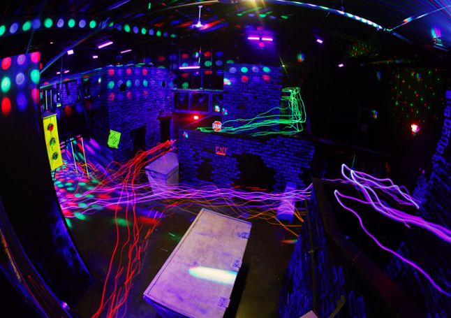 Chesterfield Sports Fusion Laser Tag Indoor Rock Climbing Dodgeball St Louis Birthday Parties St Louis Group Laser Tag Indoor Rock Climbing Arcade