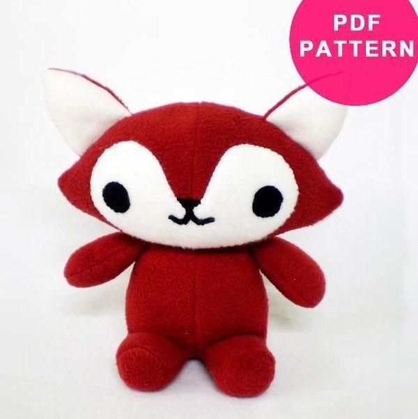 Top 9 Toy Animal Sewing Patterns | Pinterest | Animal sewing ...