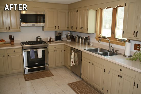 Rust Oleum Cabinet Transformations Review Before And After Kitchen Transformation Pine Kitchen Cabinets Kitchen Design