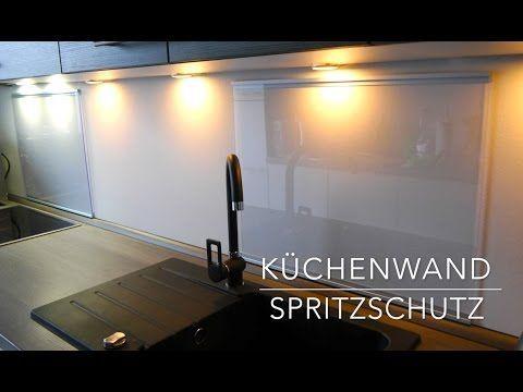 Küchen Wand Spritzschutz aus Plexiglas - Selber bauen - Anleitung - badezimmer selber bauen