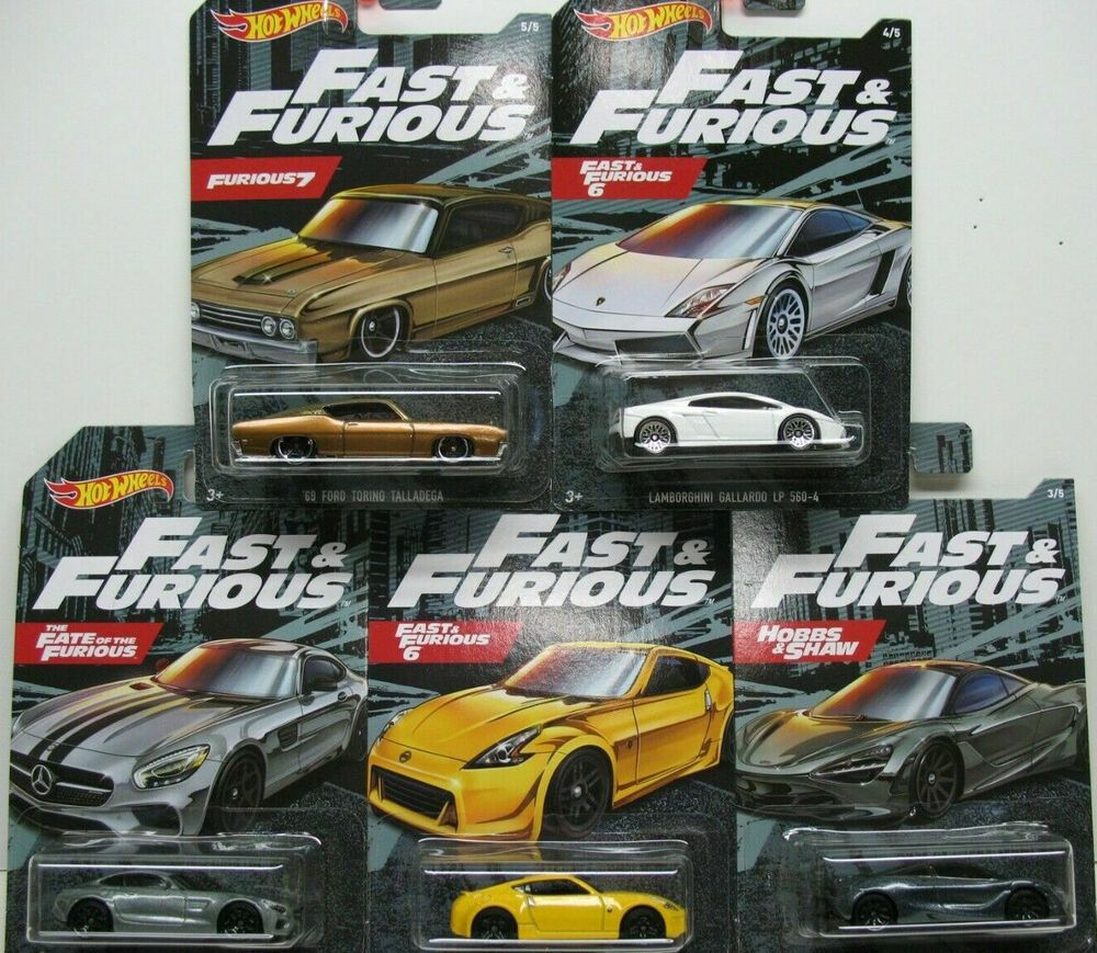 2020 Hot Wheels Fast Furious Set Of 5 Walmart Exclusive W Hobbs Shaw Hotwheels In 2020 Hot Wheels Toys Hot Wheels Garage Hot Wheels Cars