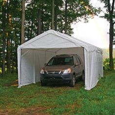 12x20 Sidewall Enclosure Kit White With Images Canopy Tent Outdoor Canopy Outdoor Carport Canopy