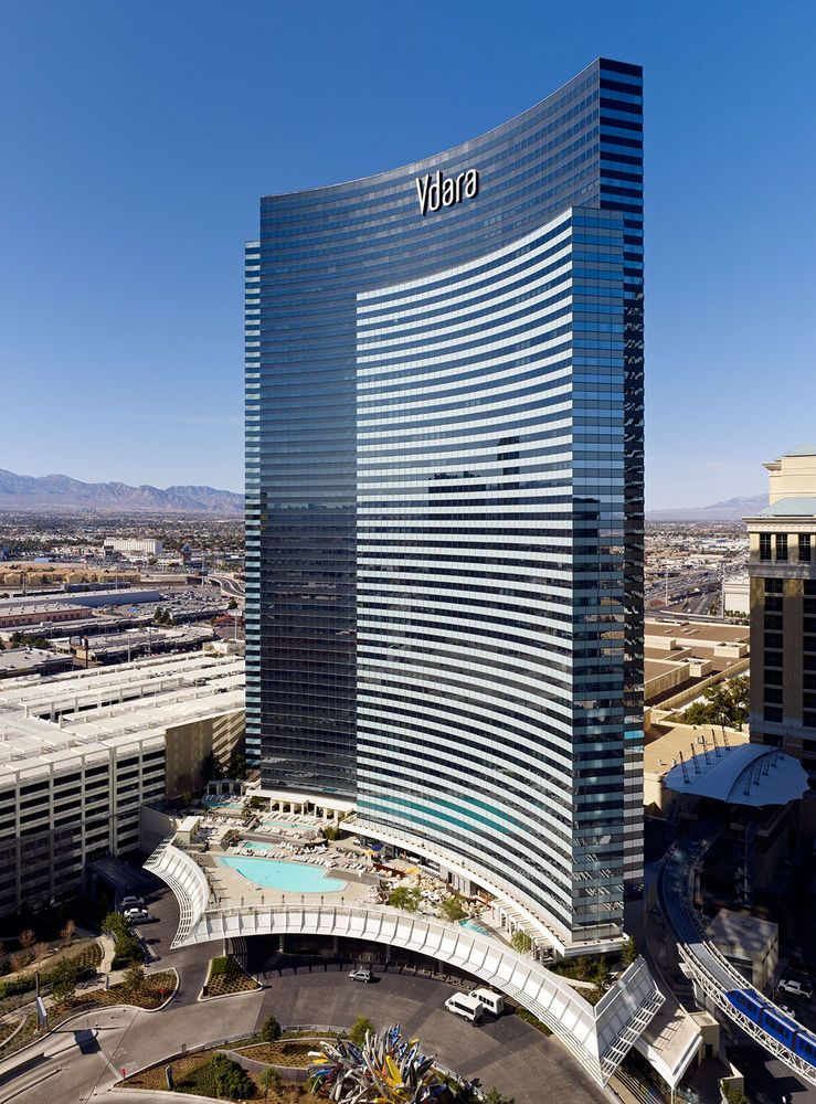 Vdara Hotel Spa At Citycenter Las Vegas Nv Architecture K