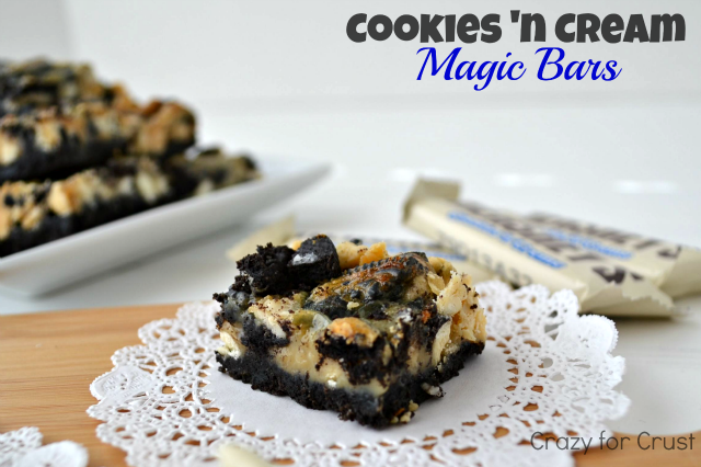 Cookies 'n Cream Magic Bars