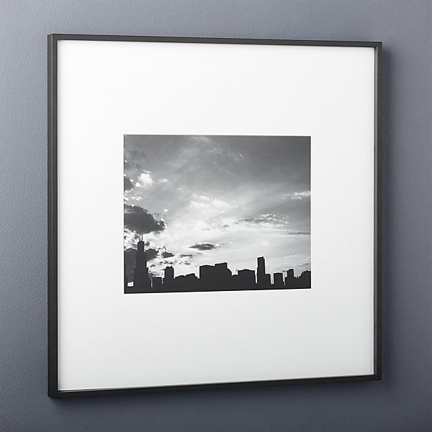 gallery black 5x7 picture frame | 5x7 picture frames, Living rooms ...