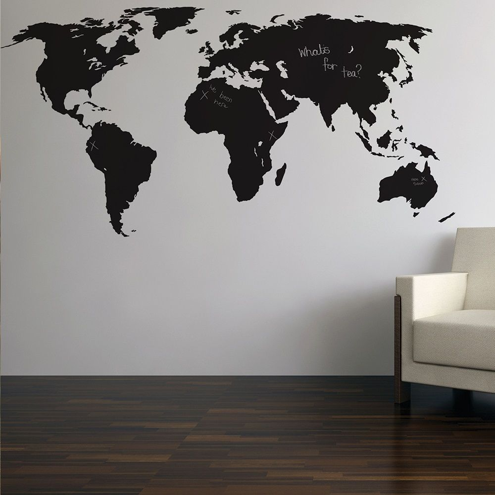 World map wall decor google search home projects pinterest world map wall decor google search gumiabroncs Images