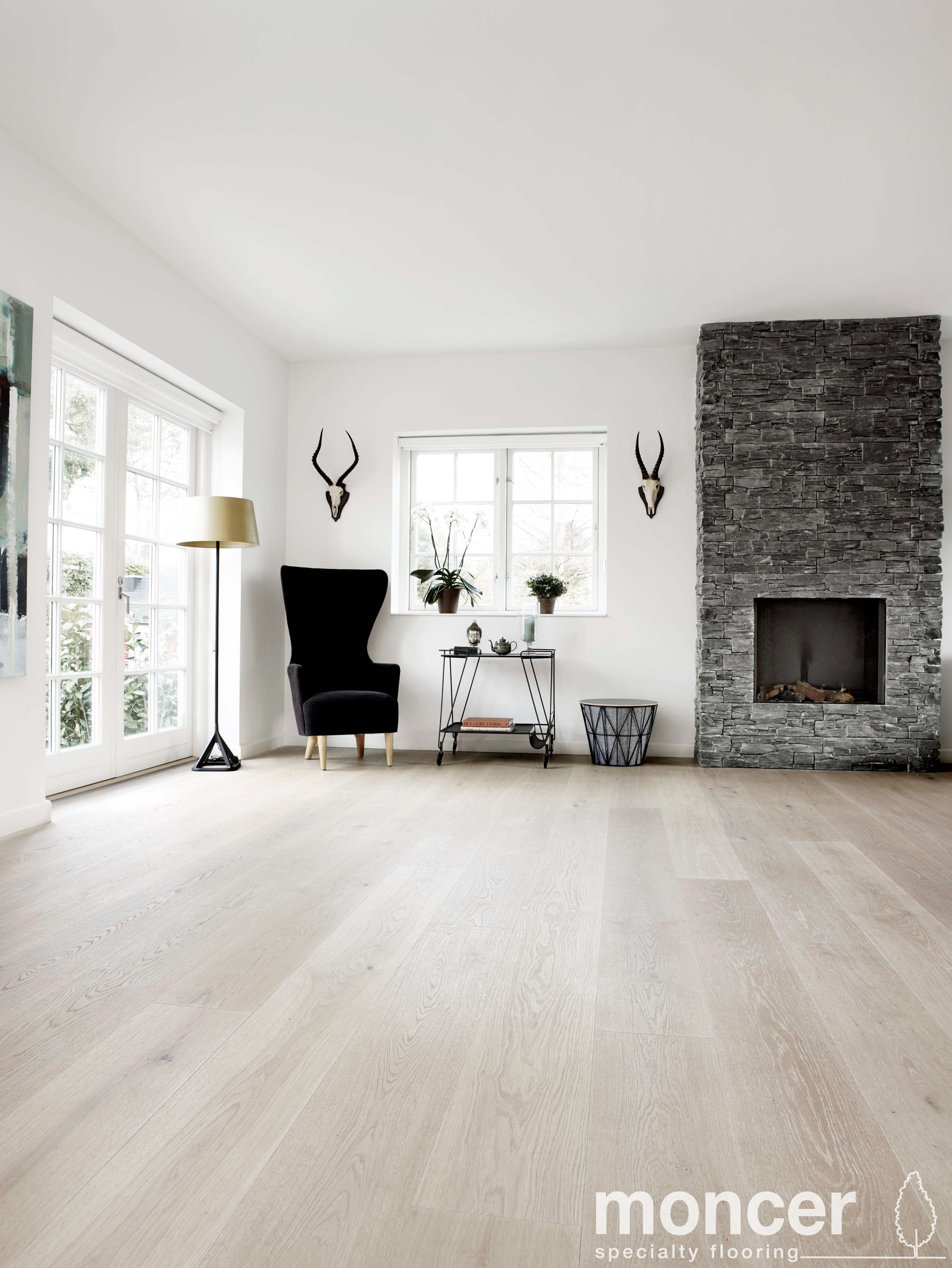 Classic European White Oak Superbianco Natural Oil White Oak Floors Living Room Oak Floor Living Room White Oak Floors