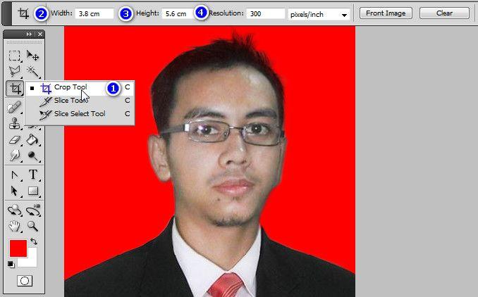 ukuran pas foto dan Cara praktis membuat pas foto dengan photoshop ...
