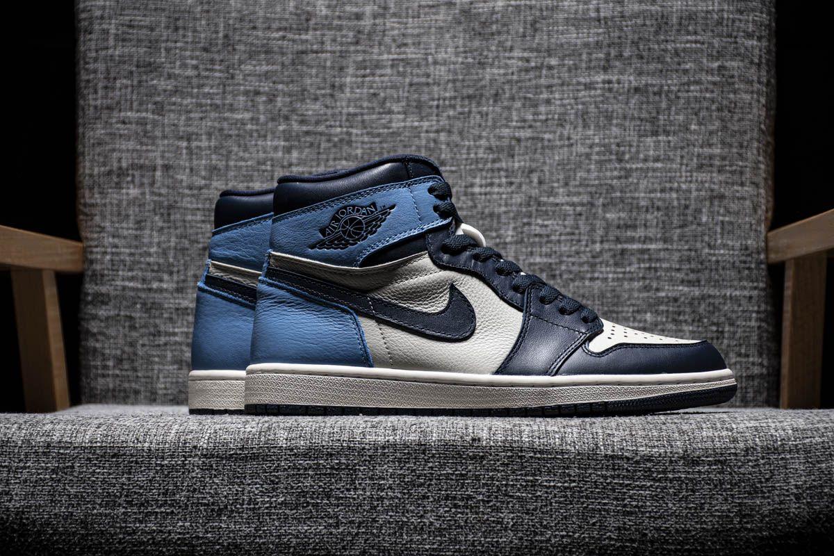 Air Jordan 1 Retro High Og Obsidian University Blue Nike Jordans Air Jordan 1 Retro High Og Obsidian University Blue 555088 140 40 46 Air Jordans University Blue Jordan 1 Retro High