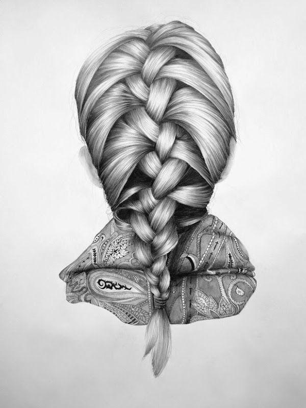 Pin by Elliot Rosenstein on art technique hair 2d