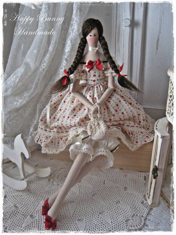 Tilda doll Miss Milla OOAK doll Handmade doll Textile doll Primitive doll  Fabric doll Collectible do 4bc81b51356
