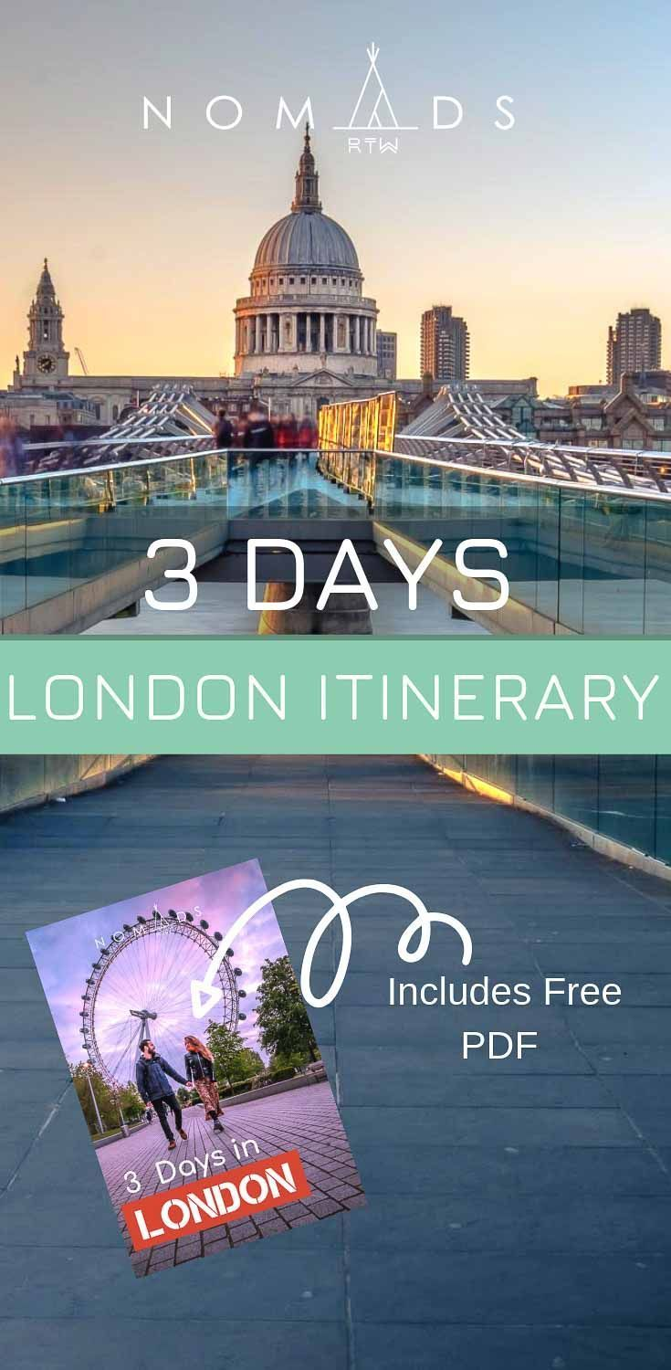 3 Days in London: Our Perfect 3 Day London Itinerary