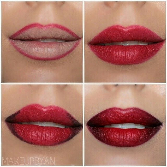 Step By Step Eye Makeup - PICS. My Collection | Lip Makeup Tutorial Full Lips And Lip Makeup