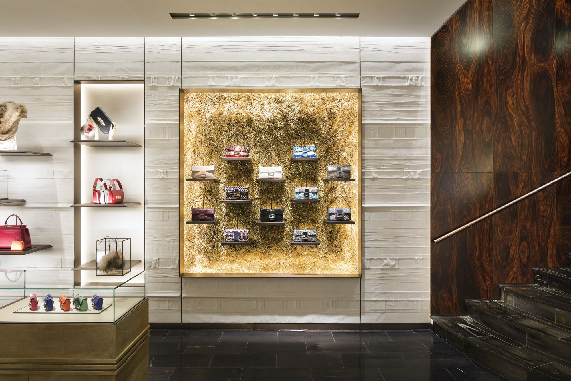 the best attitude 61493 8656a The new Fendi boutique in Madison Avenue, New York City ...