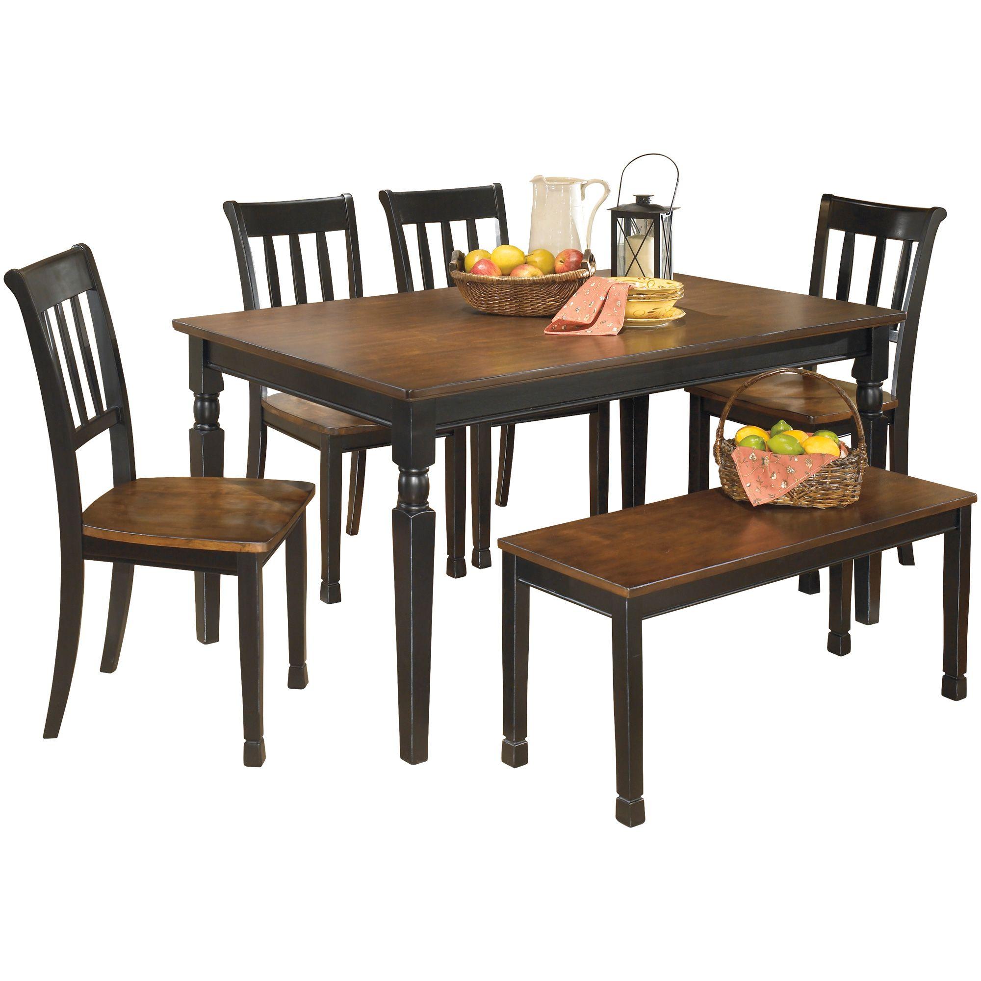 Ortonville Black Dining Set Black Dining Set Dining Room Sets Rectangular Dining Room Table