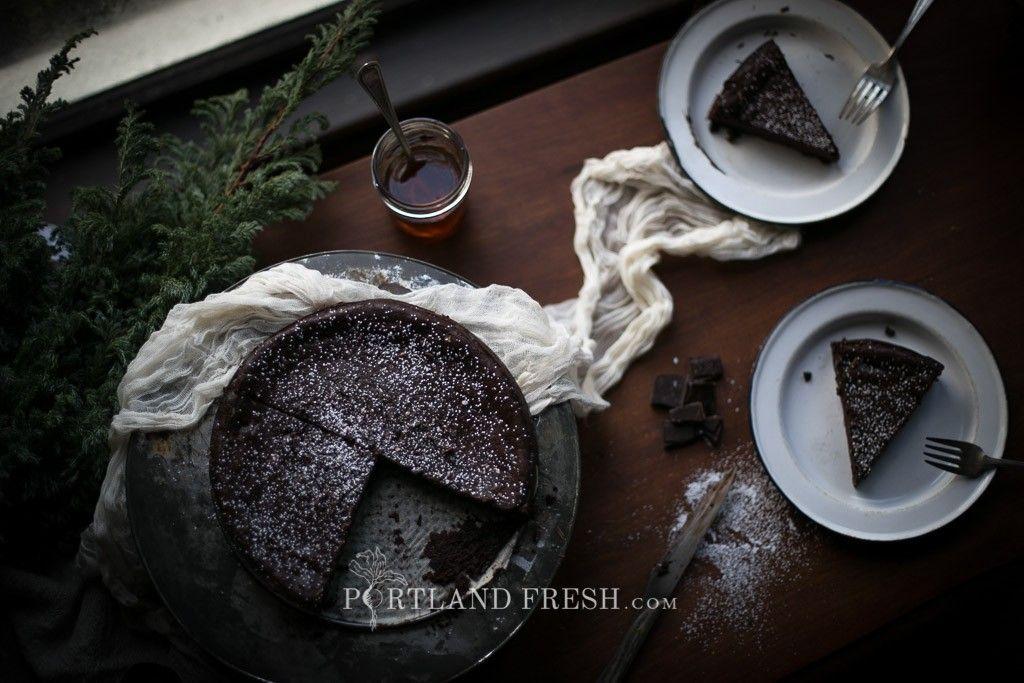 Flourless Chocolate Cake by Christiann Koepke of portlandfresh.com_-37