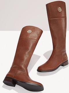 Brown Tory Burch riding boots   Brown   Pinterest   Brown, Brown ... c46060338ddf