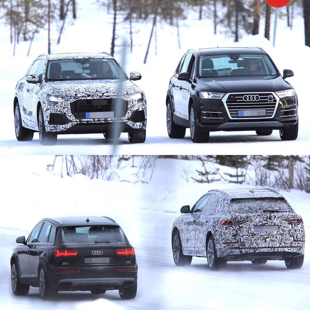 How Do You Feel Audi Q8 Exciting Vs Q7 Boring Good Comparison Of The Upcoming Audiq8 Vs Audiq7 Pictures Automotorundsport Edi Audi Q Audi Q7 Audi