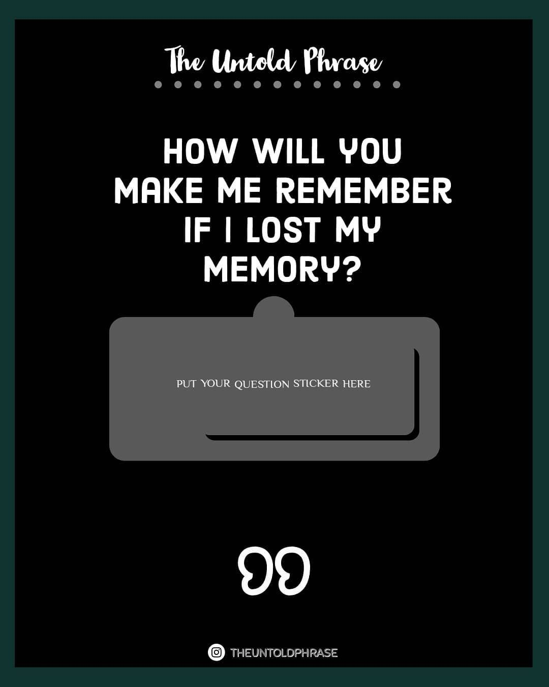 This Is A Funny Question Tag Some And Share In Your Story And Fit The Sticker Enjoy Th Instagram Words This Or That Questions Instagram Quotes Captions