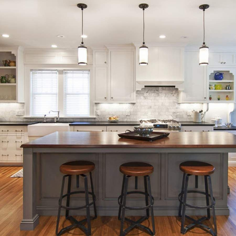 Kitchen island pendant lighting to everyone s taste for Kitchen pendant lighting island